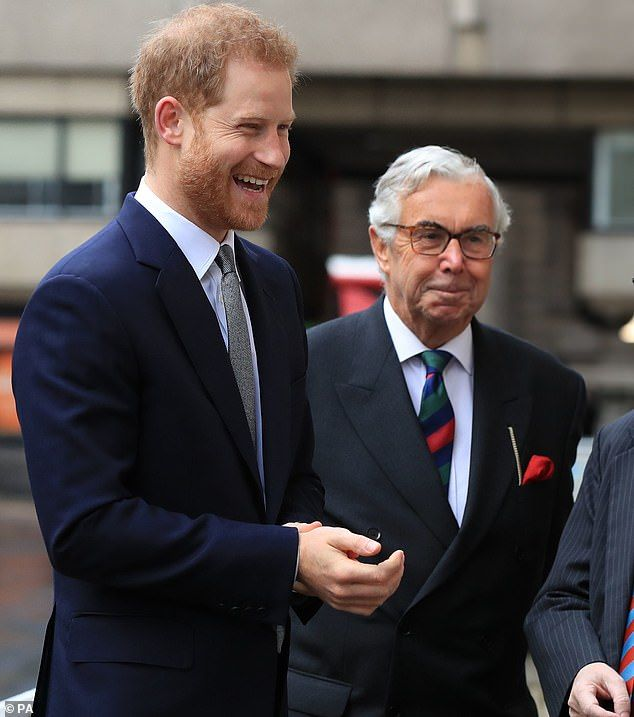Prince Harry Attends The Veterans' Mental Health