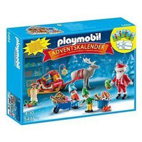 PLAYMOBIL 5494 NOEL CALENDRIER L'AVENT ATELIER JOUETS PERE NOEL LUTINS -R23769 à 26,00 € chez eBay #noel #playmobil