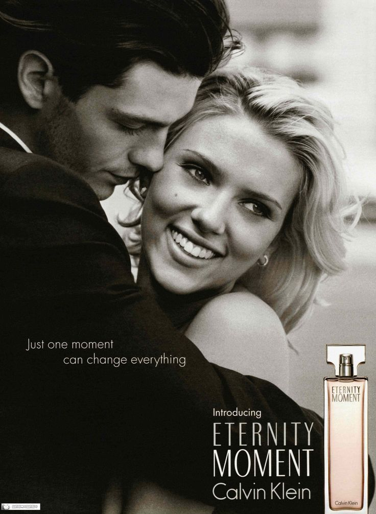 Calvin Klein Eternity Moment: Trent Ford and Scarlett Johansson by Peter Lindbergh