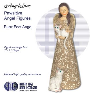 Pawsitives Angel Figurines - Purrr-fect Angel