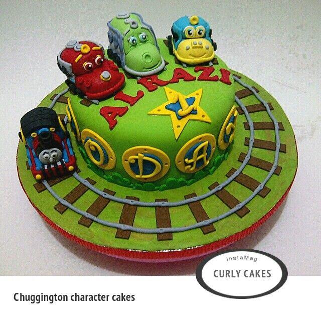 Chuggington character cakes