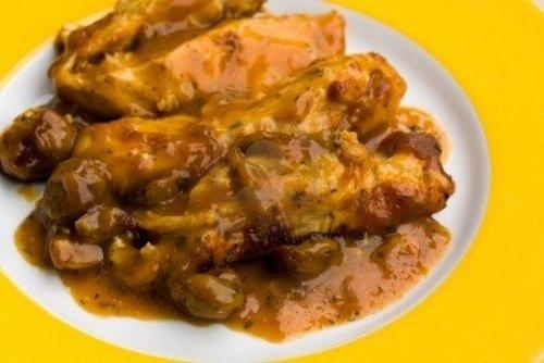 Scalloped Chicken: Hamburger Recipes, Chicken Recipes, Lunches Recipes, Baking Recipes, Hamburg Recipes