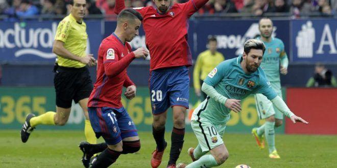 Barcelona gana 3-0 al Osasuna en la Liga Española | A Son De Salsa