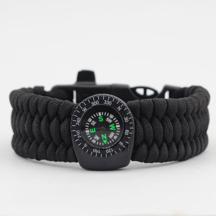 EDC Gear Kit Outdoor Camping Tool 550 Paracord Bracelet Survival Kit Hiking Emergency Gear RL21-0032(China (Mainland))