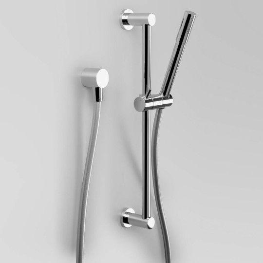 Hand shower on Slider Bar - Shower Brushed Platinum