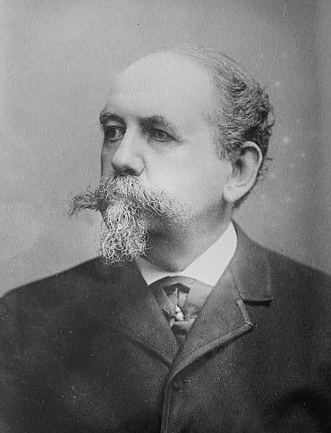 """Samuel Ward McAllister (1827-1895) 