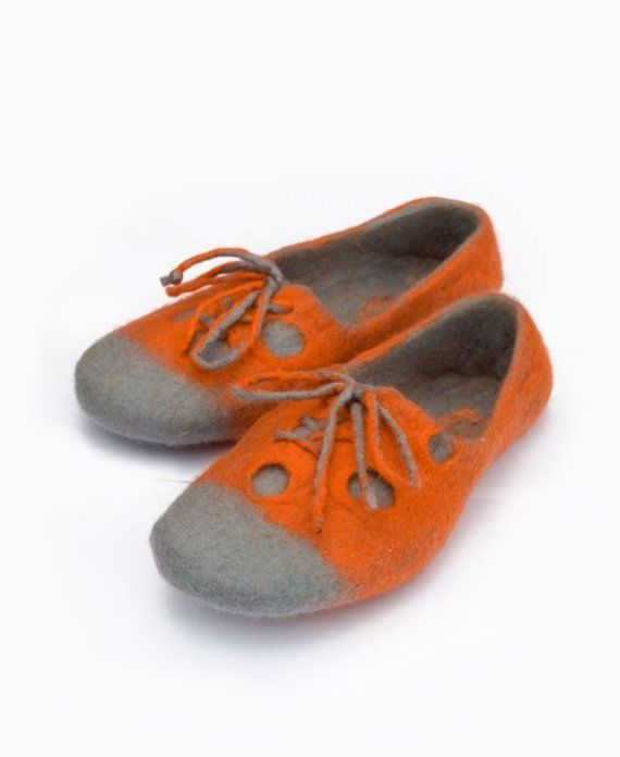 spiffy felted slippers!