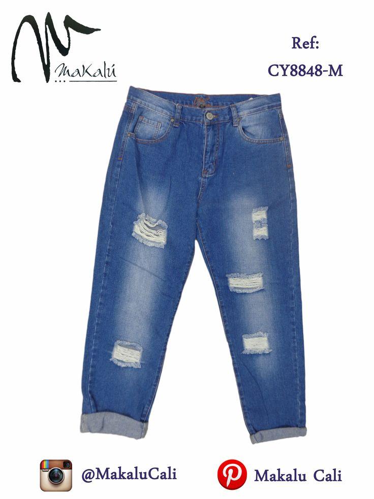 Pantalones Tipo Boyfriend para Dama... Visita nuestras tiendas Makalu y descubre todas las opciones que podemos ofrecerte. En Cali: Centro comercial Bahía, Cra. 9 # 13A-54, local 4 Centro comercial el tesoro, Cra 7 #13-70 mezanine 104, Local 2. En Pereira: Cra 8va # 16-71 edificio San Gabriel, Ofi. 209. #makalutesoro #makaluBahia #tendencias #makalucali #makalu #modafemenina #fashion #instagramers #fashionLovers #colombia #cali