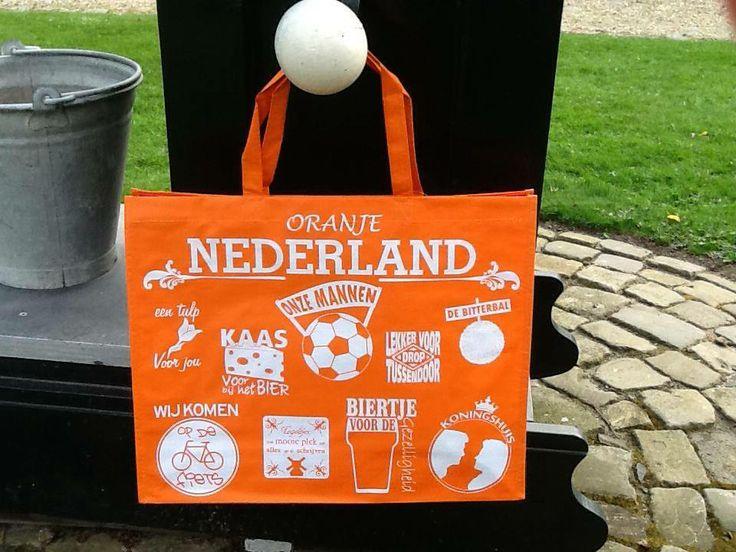 Leuke oranje Nederlandtas €1.95
