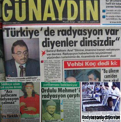 """""""Türkiyede Radyasyon Yoktur"""" İddası"""