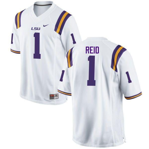 sale retailer 52d5c 7c08a Men LSU Tigers #1 Eric Reid College Football Jerseys Game ...