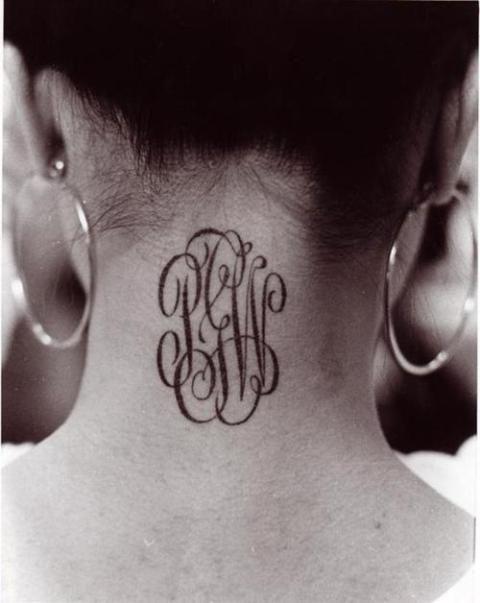 Monogrammed initials.....LOVE IT. #supergirly #girly #monogram