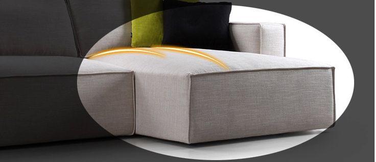 Современная Extra Soft ткань, Простой элегантный дизайн, большая гостиная диван, Вид на диван ткани, HALSONS Подробнее от Шуньдэ района Sangzi Импорт & Export Co., Ltd. на Alibaba.com