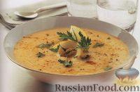 Фото к рецепту: Суп-пюре из чечевицы и овощей