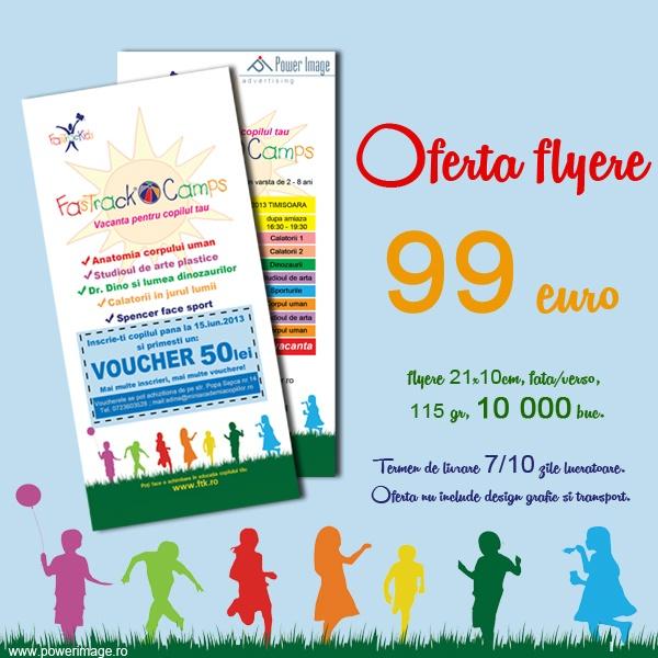 10 000 flyere/ 99 euro