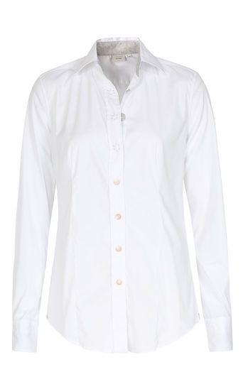 Caliban 820 Bluse weiß