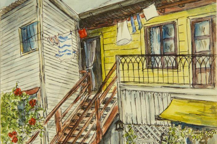 Milada Voldan | Dibujos y acuarelas