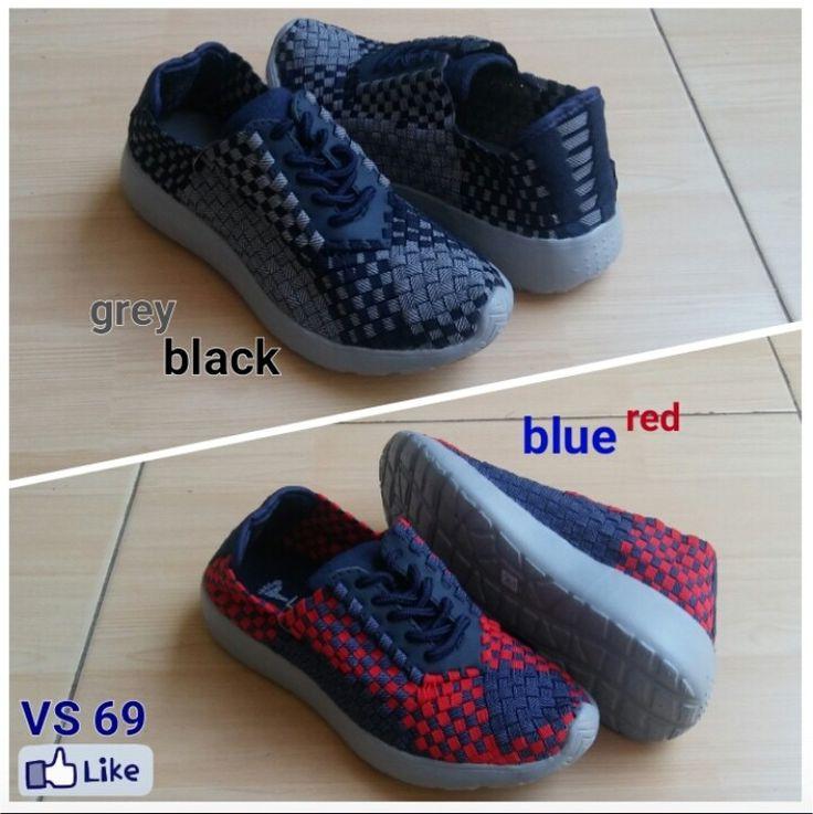 Sepatu Rajut Anyaman Lulia VS69 35-41 220rb