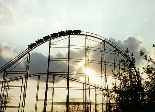 King's Island in Mason, Ohio - said to be haunted by five ghosts, including a couple of park attendees that fell to their deaths as well as a security guard.
