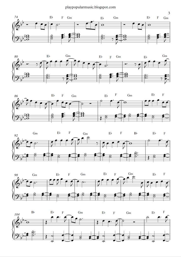 13 best sheet music images on Pinterest | Free piano sheet music ...