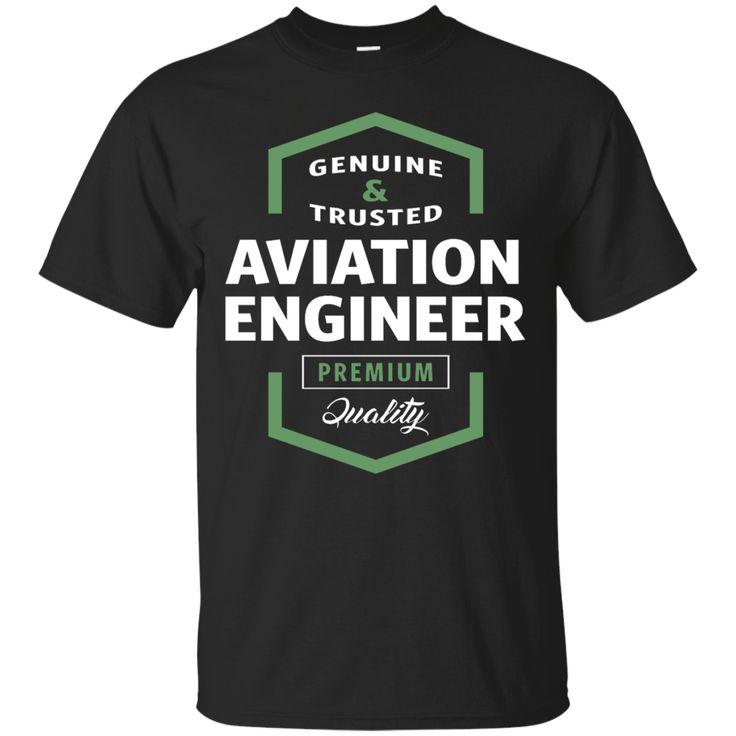 Aviation Engineer Logo Gift Ideas T-Shirt