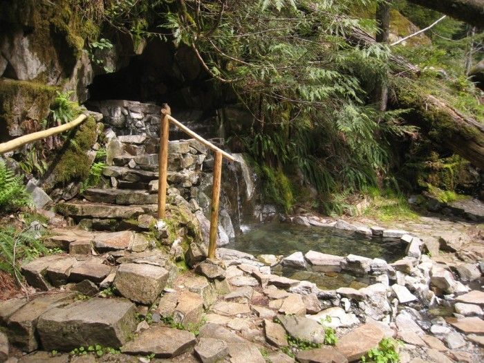 There Is No Better Place To Be Than These 8 Hot Springs In Washington | 5. Goldmyer Hot Springs