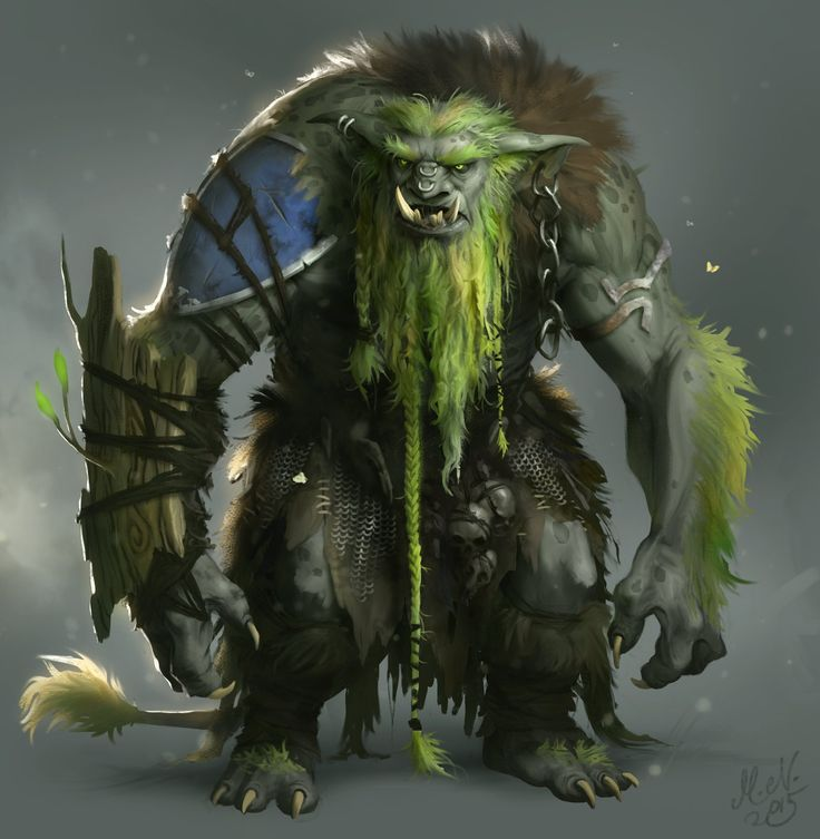 Forest Troll, Magnus Norén on ArtStation at https://www.artstation.com/artwork/forest-troll-3f9ace34-dad9-44c9-a0ee-430b82fb4bf6
