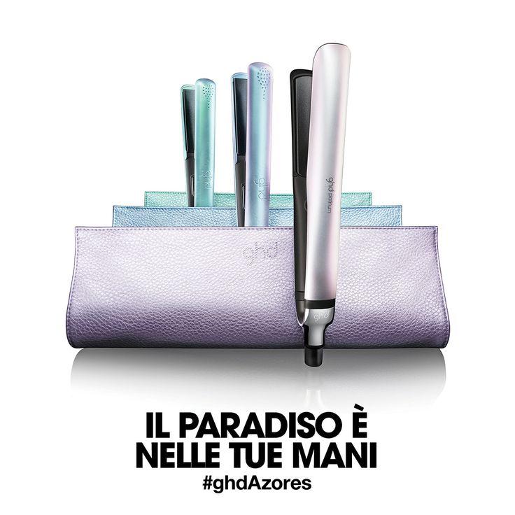 I tuoi capelli saranno meravigliosi anche in vacanza grazie alla collezione limited edition ghd Azores