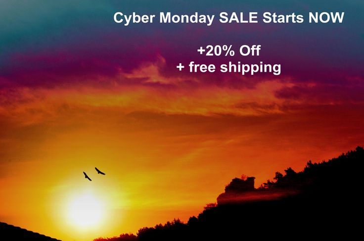 CYBER MONDAY - 20% OFF + free shipping