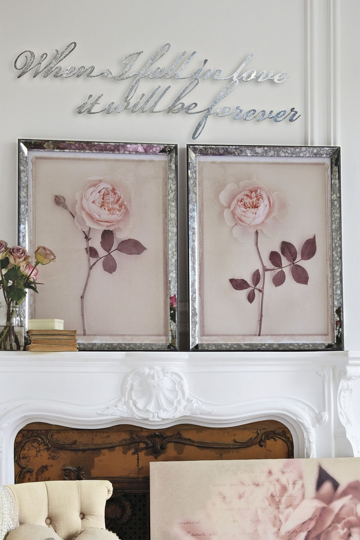 Wall Art In Mirror Frame : Mirror framed wall art uk reversadermcream