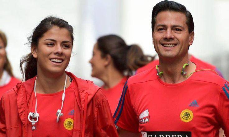 Enrique Peña Nieto y su hija, Paulina, comparten la pasión por el deporte