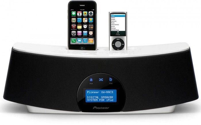 The Pioneer XW-NAC3 iPod speaker system is ideal for multi-iPod households, or party-throwing socialites, as it features two iPod docks with shuffle and cross fade functionality.