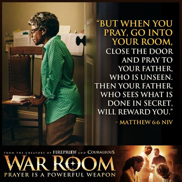 War Room: Kendrick Brothers Christian Movie/Film - Banner 4