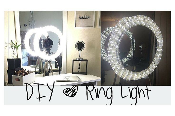 Easy Makeup DIY Ring Light For Beginners | This Ring light Tutorial Can Save You a Lot of Money and It's So Easy to Make! Check it out at http://makeuptutorials.com/easy-diy-ring-light/