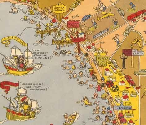 Venice Beach Los Angeles Map S Jomoramaplosangeles - Los angeles map venice beach