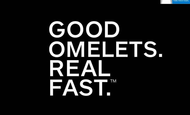 Good Omelets. Real Fast.™ Collection: An innovative way to make omelets in under 5 minutes!