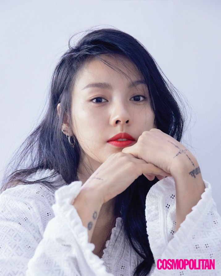 Lee Hyori in Cosmopolitan Korea March 2017