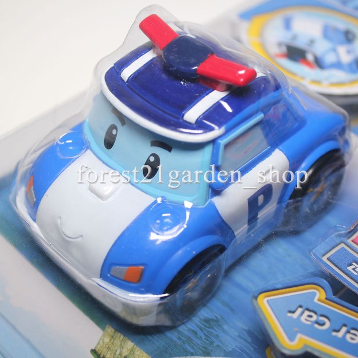 TV Animation Roboca Poli Water Car,Pull Back Action, Go on The Water - 1 Pcs #sungjin