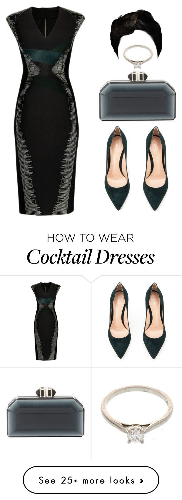 """""""Untitled #2460"""" by princessceairra on Polyvore featuring PINGHE, Gianvito Rossi, Judith Leiber and Cartier"""
