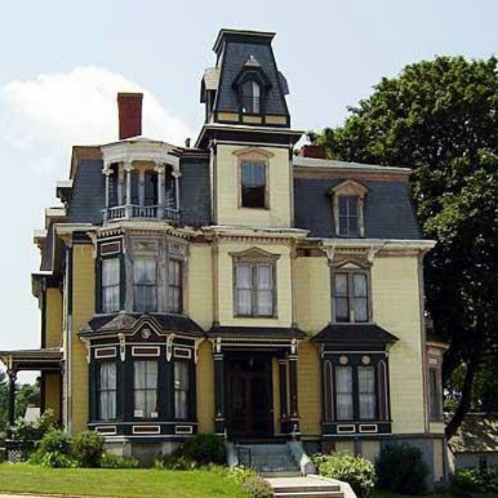 The S. K. Pierce Mansion, Gardner, Massachusetts/ I like the SK on this because it' my son's initials.....