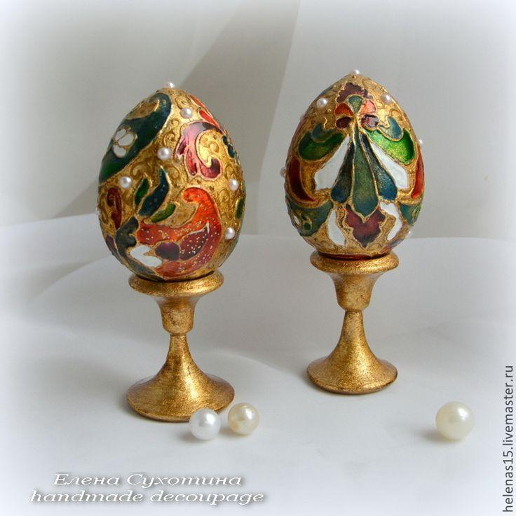 Купить Яйца золотые пасхальные - золотой, яйцо, яйца, яйца пасхальные, яйцо расписное