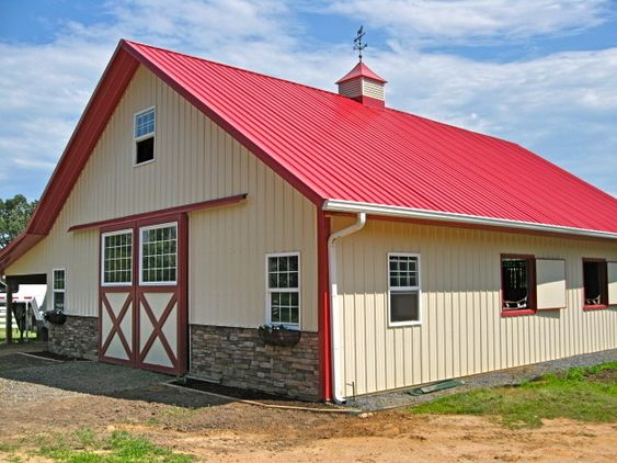 38 best western riding images on pinterest horses horse for Complete barn home kits