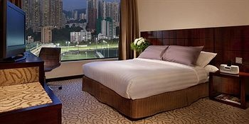 Cosmopolitan Hotel Hong Kong - Hotels.com - 3.8/5 - $176 city scape view