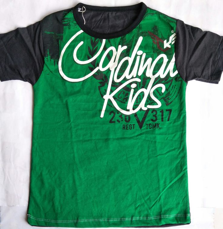 Kaos Anak Laki-laki Cardinal Kids - https://credokid.com/produk/jual-baju-anak-branded/