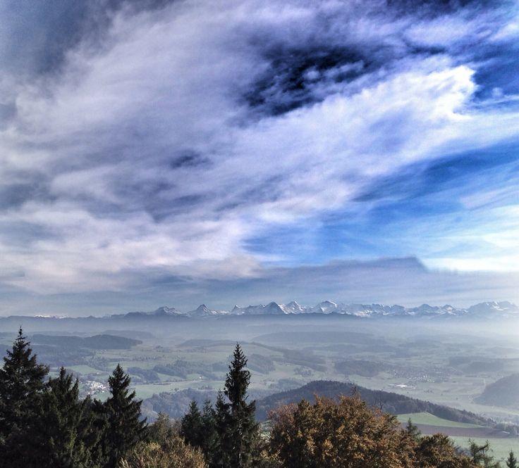 Mountains,Bantiger Bern,Switzerland