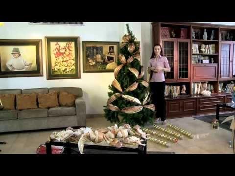 Decoración de árboles de navidad 2011 De Prati - YouTube