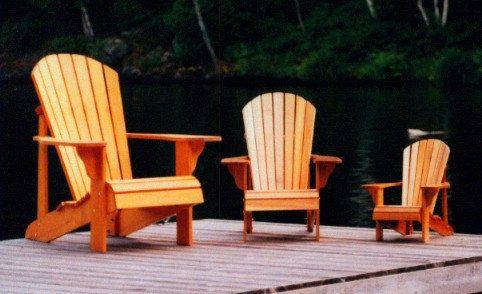 child's wooden adirondack chair 2