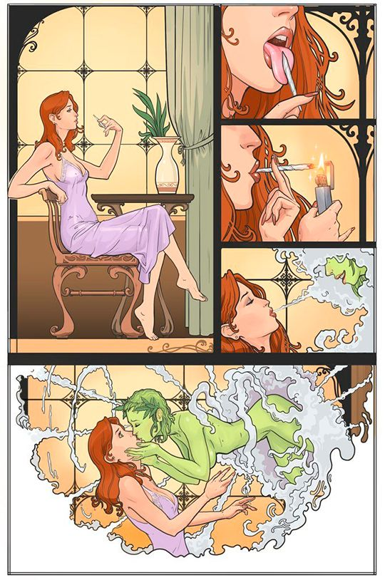 Dizem que é exatamente isso que acontece quando você fuma maconha.