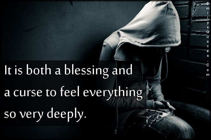 It is very difficult to feel