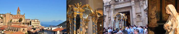 l'Annunziata e il Santuario - Santuario Maria SS. Annunziata di Ficarra (ME)